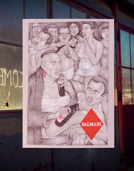 salmari postcard