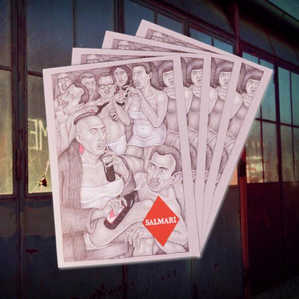 salmari postcard 4x